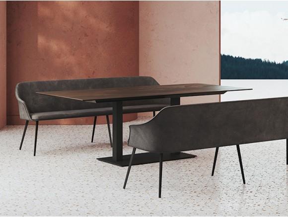 Mesa con base y tapa...