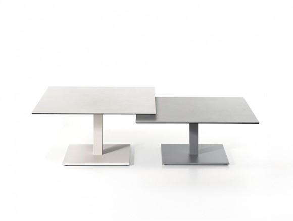 Mesa de centro y auxiliar Dado