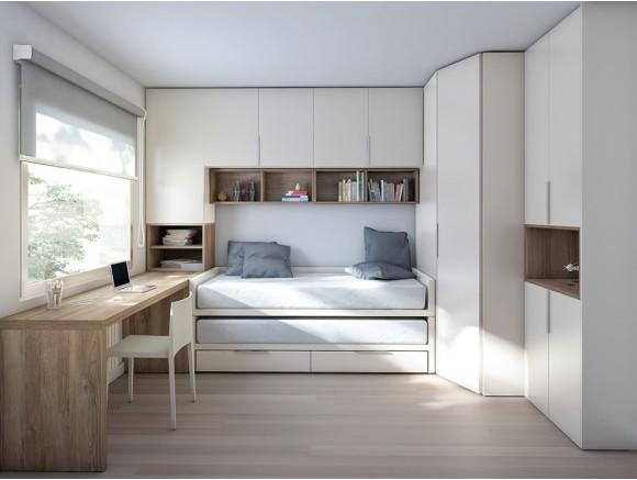 Dormitorio juvenil Bicama...