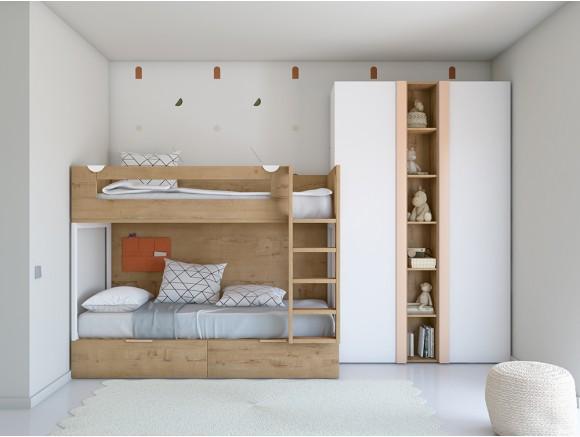 Dormitorio juvenil con...