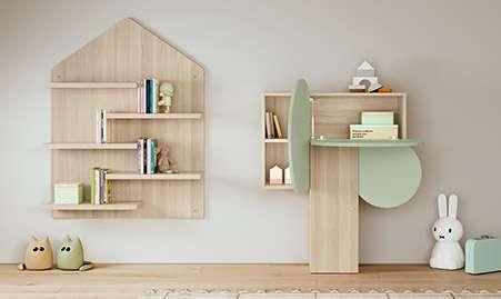 Librería y estantería