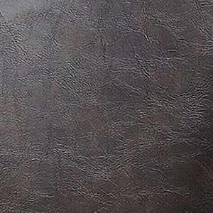 Piel sintética marrón oscuro